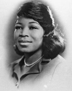 Malcolm X's wife - Betty Shabazz