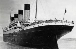 The Titanic's maiden voyage