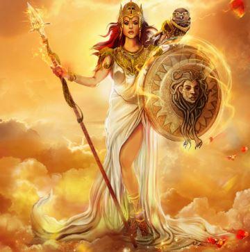 Greek goddess - Athena