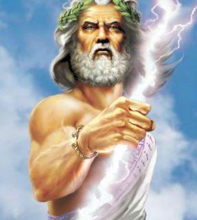 Greek god Zeus