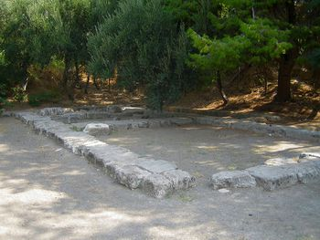 What remains of Plato's Academy in Greece today