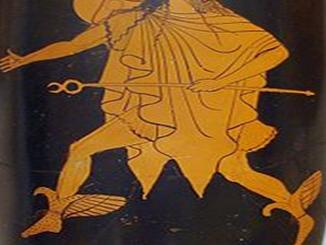 Hermes, the Greek god