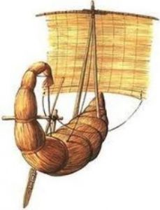 Invention of the sailboat