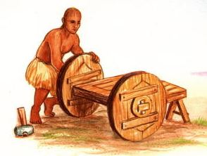 The invention of the wheel
