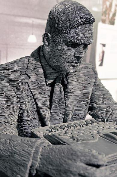 British mathematician, Alan Turing