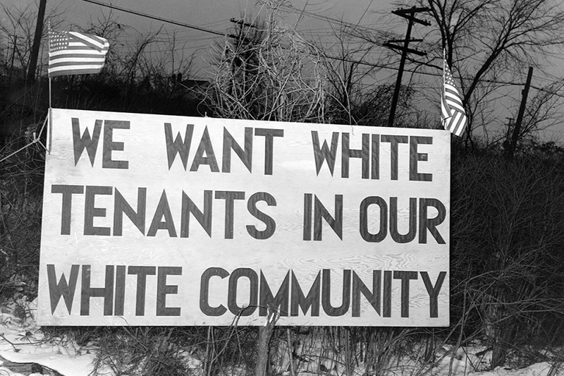 Jim Crow Laws in housing
