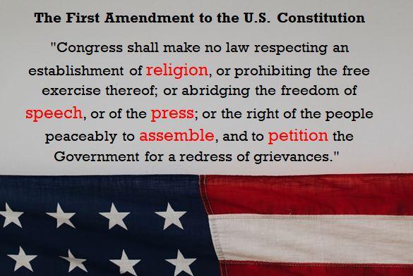 U.S. First Amendment