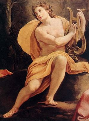 Apollo, the god of light and music