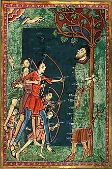 how St Edmund died