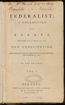 Federalist papers