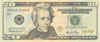 U.S. 20 Dollar note