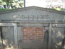 John Quincy Adams' death