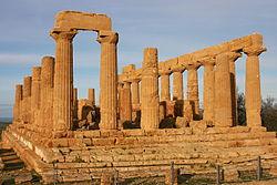 Temple of the Greek Goddess Hera