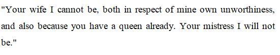 Anne Boleyn's quote