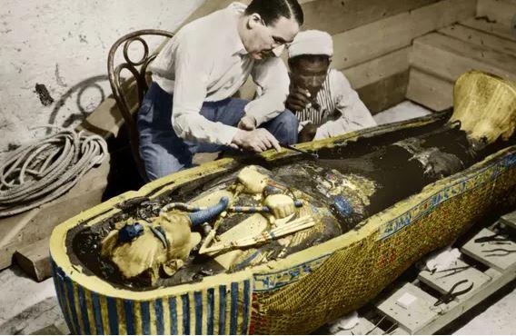 Tutankhamun's tomb and remains