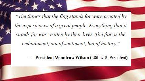 President Woodrow Wilson quote
