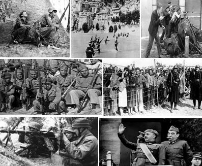 Spanish Civil War Causes and Timeline