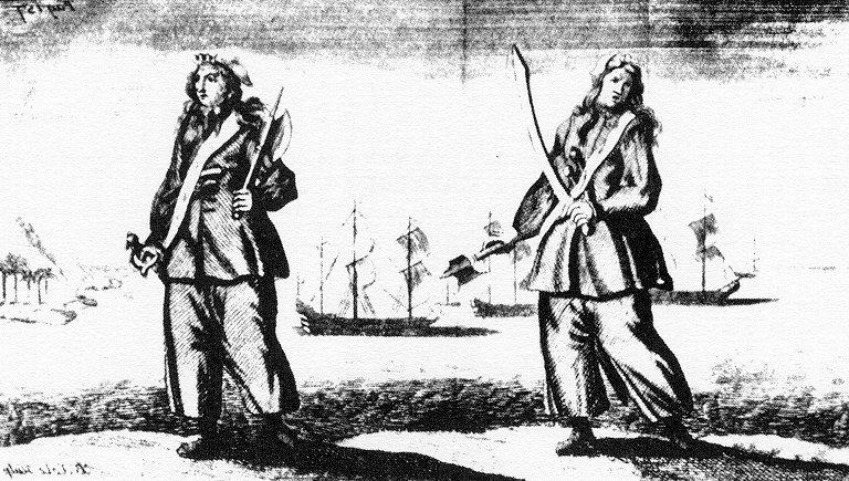 Fiercest Female pirates.
