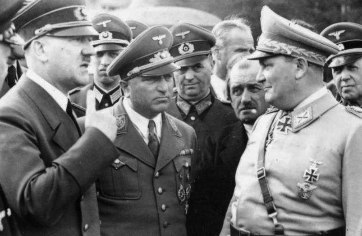 Adolf Hitler and Herman Goring