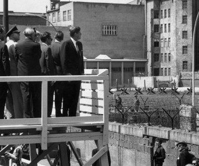 JFK at the Berlin Wall