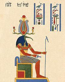 Symbols of Egyptian God Thoth