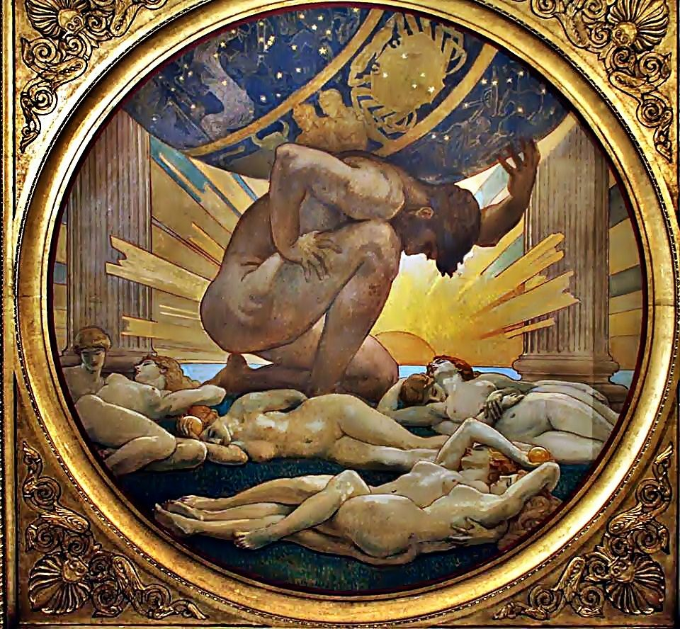 Greek Titan Atlas – Origin Story, Powers & Symbols - World ... Iapetus Titan Symbol