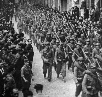 Spanish Civil War Timeline