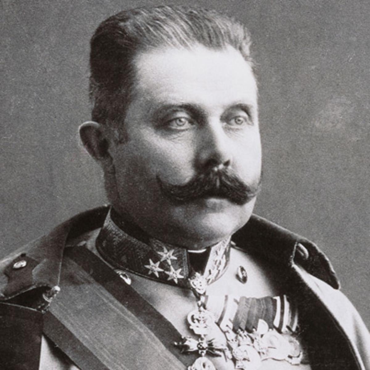 Archduke Franz Ferdinand's death