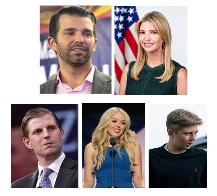 Donald J. Trump's Children