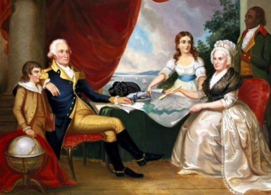 George Washington's children
