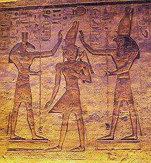 Seth and Osiris