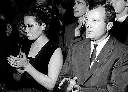 Yuri Gagarin's wife