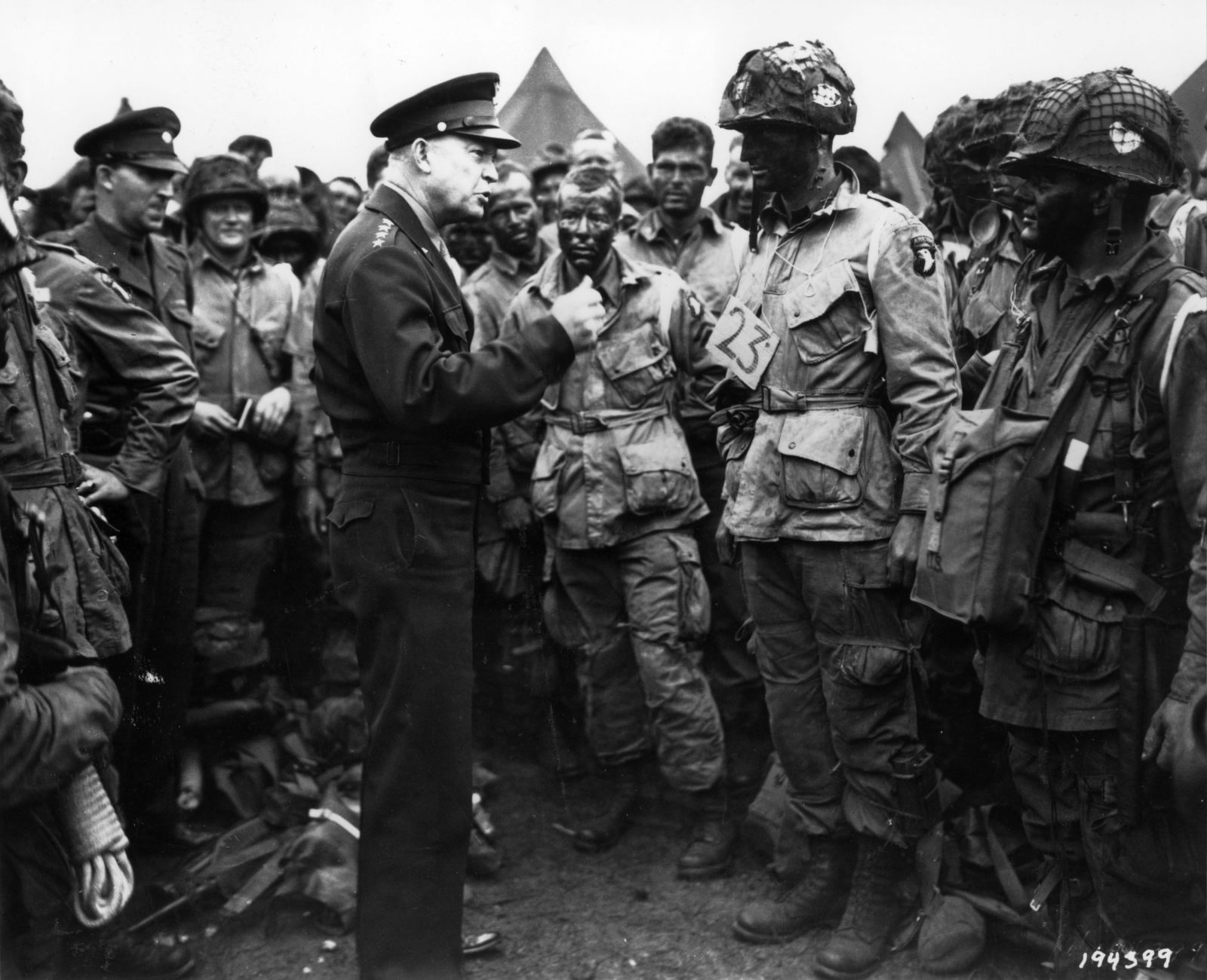 Gen. Dwight D. Eisenhower - D-Day