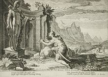 Cadmus at the Oracle of Delphi