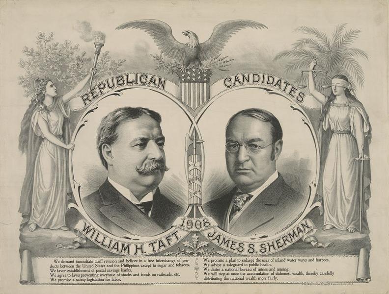 US President William Howard Taft