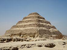 Imhotep and the Pyramid of Djoser in Saqqara