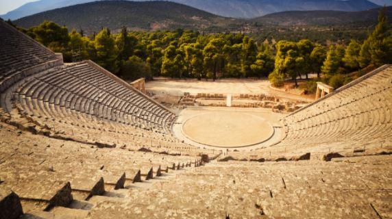 The Epidaurus Theatre