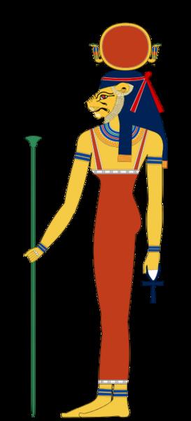 Egyptian goddess Tefnut