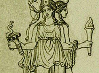 Greek goddess Hecate
