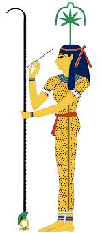 Egyptian goddess Seshat