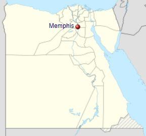 Egyptian city of Memphis