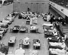 Spanish flu outbreak