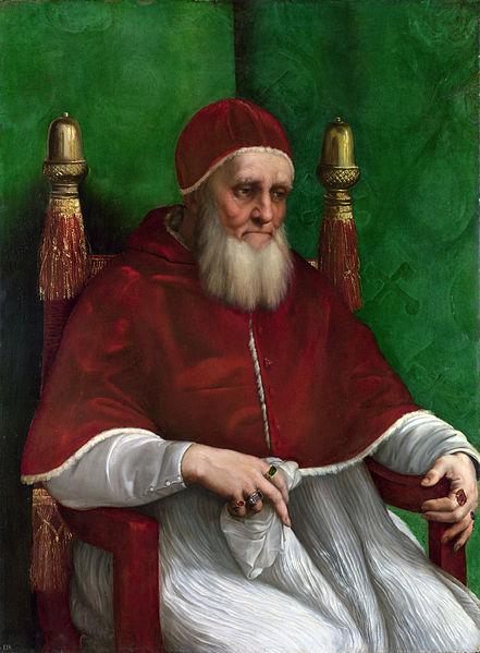 Pope Julius II's portrait