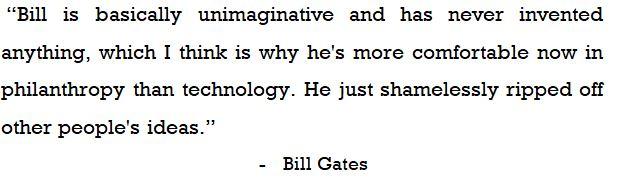 Achievements of Bill Gates