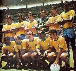World Cup 1970 Brazil squad