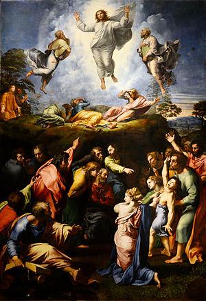 Raphael's The Transfiguration