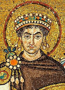 Emperor Justinian I of the Byzantine Empire