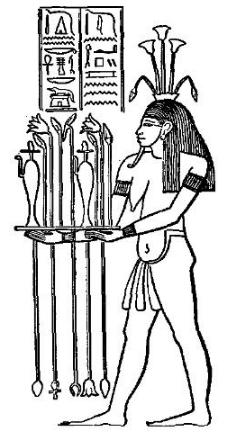 Hapi depictions and symbols