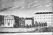 Lane Theological Seminary, Cincinnati, Ohio