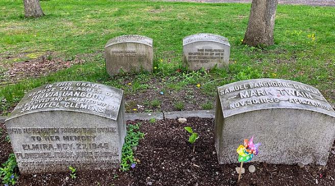 Death of Mark of Twain